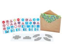Минимальный набор наклеек Эко, Трик-Трек
