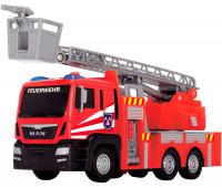 Пожарная машина MAN с выдвижной лестницей (17 см), Dickie Toys