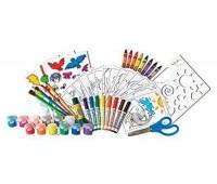 Мультинабор для творчества с красками и фломастерами, Crayola