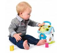 Игрушка для развития Cotoons Дом с сортером (голубой цвет), Smoby Toys