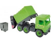 Мусоровоз (42 см), Middle Truck, зеленый, Wader