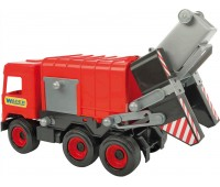 Мусоровоз (42 см), Middle Truck, красный, Wader