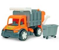 Мусоровоз Гигант (65 см), Giant Truck, оранжевый, Wader