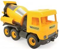 Бетономешалка Middle Truck (40 см), желтая, Wader