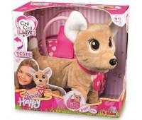 Интерактивная собачка  Чихуахуа Хеппи с сумочкой (30 см), Chi Chi Love