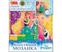 Блестящая мозаика Frozen, набор для творчества, Ranok Creative