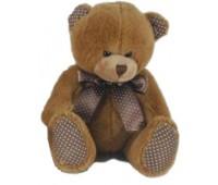 Мягкая игрушка Медведь (15 см), желтый, Devilon