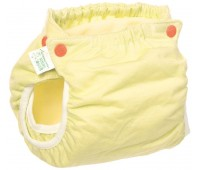 Подгузник трикотажный Active Premium 5-9, со вкладышем Abso Maxi (желтый), Эко Пупс