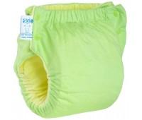 Подгузник трикотажный Easy Size Premium 5-9, со вкладышем Abso Maxi (зеленый), Эко Пупс