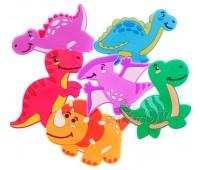 Игрушки для купания Динозавры на присосках, КиндеренОК