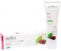Детская зубная паста для молочных зубов, вишневый аромат, 100 мл, Melica Organic