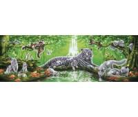 Пазл-панорама У водопада, 1000 элементов, Step Puzzle