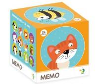 Игра Мемо Животные, 24 элемента, Dodo