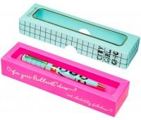 Ручка шариковая City Girl Chic в подарочной упаковке, Chicardi