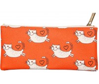 Косметичка Cats (оранжевая), Chicardi