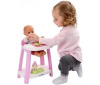 Игровой набор по уходу за куклой, 3 в 1 (15 аксессуаров), Ecoiffier