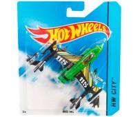 Duel Tail, базовый самолетик, Hot Wheels