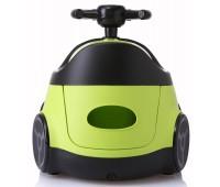 Детский горшок Автомобиль, зелёный, Babyhood