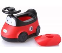 Детский горшок Автомобиль, красный, Babyhood