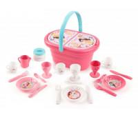 Набор для пикника в корзине, Disney Princess, Smoby Toys