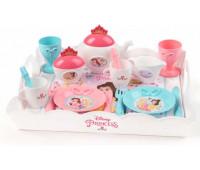 Набор посуды Чаепитие с подносом, Disney Princess, Smoby Toys