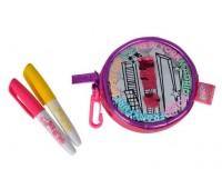 Сумочка-кошелек Хамелеон, кожзам, 2 маркера, Color Me Mine