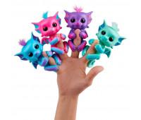 Интерактивный ручной дракончик Кайлин (голубой), Fingerlings, WowWee