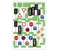 Набор дорожных знаков (23 шт.), MultiGo, Efko