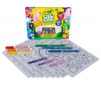 Маленький набор для творчества  с восковыми мелками и фломастерами, Silly Scents, Crayola