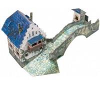 Мост, Сборная модель из картона, серии Средневековый город, Умная бумага