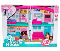 Кукольный домик с мебелью и фигурками, Keenway