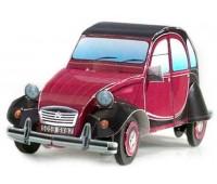 Citroen 2CV серии Автомобили, Сборная игровая модель из картона, Умная бумага