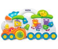Музыкальная игрушка Паровозик с животными, Weina