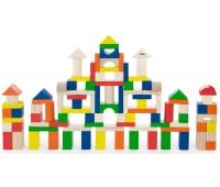 Набор строительных блоков, 100 шт., 2,5 см., Viga Toys