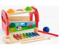 Игрушка Ксилофон, 2 в 1, Viga Toys