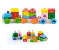 Конструктор Поезд, Viga Toys