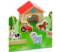 Игровой набор Ферма, 30 эл., Viga Toys