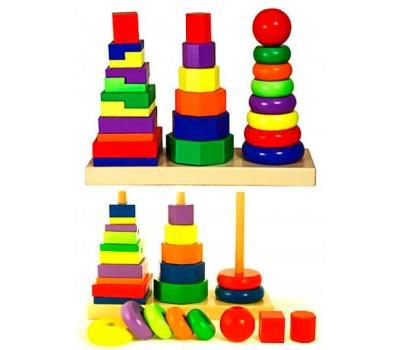 Пирамидка, Viga Toys
