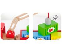 Игрушка Автокран, Viga Toys