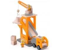Игровой набор Строительная площадка, Viga Toys