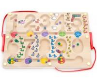 Развивающая игрушка Лабиринт, Цифры, Viga Toys