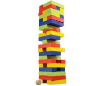 Падающая башня (разноцветная), настольная игра, Merchant Ambassador