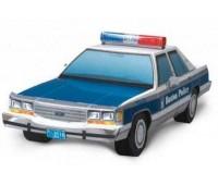 Автомобиль Ford LTD Crown Victoria, сборная модель из картона, Умная бумага
