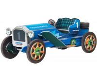 Машинка ретро (синяя), сборная модель из картона, Умная бумага