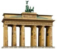 Бранденбургские ворота (Берлин), сборная модель из картона, Умная бумага
