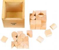 Набор Фрёбеля и Монтессори, Мир деревянных игрушек