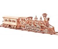 Локомотив R17, механический 3D-пазл, Wood Trick