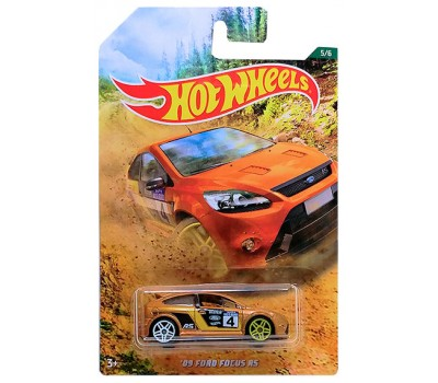 '09 Ford Focus RS, автомобиль базовый коллекционный, Hot Wheels