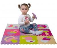 Детский коврик-пазл Маленький кенгуренок, (9 эл.), Baby Great