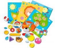 Игра настольная магнитная Веселые картинки (укр.), Vladi Toys